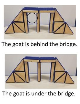 Three Billy Goats Gruff positional book