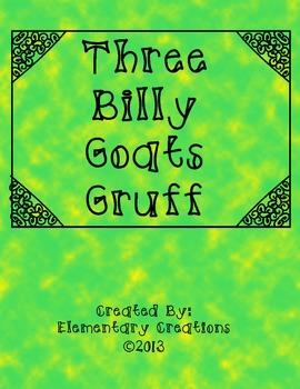 Three Billy Goats Gruff story mapping