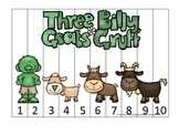 Three Billy Goats Gruff themed Number Sequence Puzzle educational game.