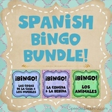 Three Bingo Products in One {BUNDLE} - Spanish Speech Therapy