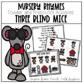 Three Blind Mice-Nursery Rhymes For Toddlers and Preschoolers
