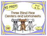 Three Blind Mice Activities