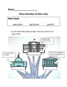Three Branches Quiz
