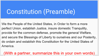 Three Branches of Government (58 Slides! 2-3 classes!)
