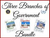 Three Branches of Government Activities-Executive, Legislative, Judicial