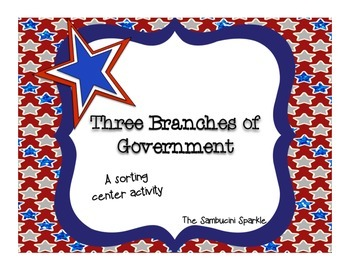 Three Branches of Government Activity