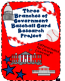 Three Branches of Government Baseball Card Research Projec