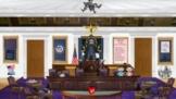 Three Branches of Government Bitmoji Virtual Classroom Template