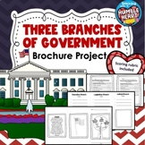 Three Branches of Government Brochure Project and Scoring Rubric