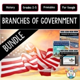 Three Branches of Government Bundle: Activity Pack & PPT
