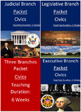 Three Branches of Government Bundle - Six Weeks!