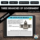 Three Branches of Government for Distance Learning & Googl