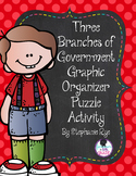 Three Branches of Government Graphic Organizer Puzzle Activity