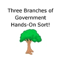 Three Branches of Government Hands-on Sort