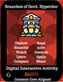 Three Branches of Government Hyperdoc / Digital Interactive Activity