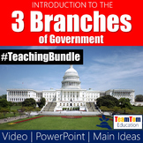 Three Branches of Government Intro Bundle