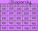 Three Branches of Government Jeopardy Smartslides