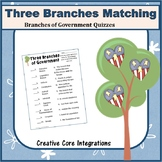 Three Branches of Government Matching