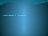 Three Branches PowerPoint with Questions Handout