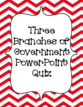 Three Branches of Government Quiz