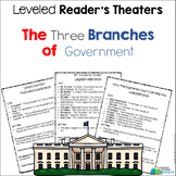 Three Branches of Government Readers Theater {Leveled Parts}