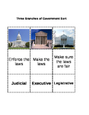 Three Branches of Government Simple Sort