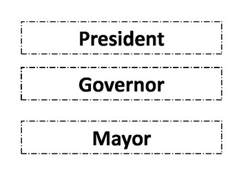 Three Branches of Government Sort-Ohio
