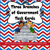 Three Branches of Government Task Cards