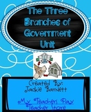 Three Branches of Government Complete Unit!