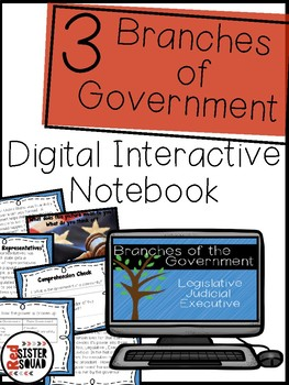 Three Branches of Government digital activities