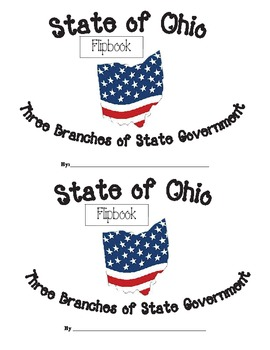 Ohio government teaching resources teachers pay teachers three branches of ohio government flipbook fandeluxe Choice Image