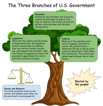 Three Branches of the U.S. Government