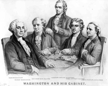 Washington's Cabinet & Interpreting the Constitution