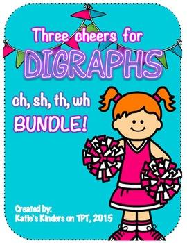 Three Cheers for Digraphs - BIG BUNDLE!