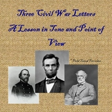 Three Civil War Letters Analytical Writing Assignment
