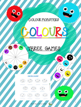 Colours - Three Colour Games - Colour Monsters