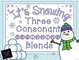 Three Consonant Blends
