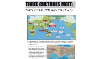 COMPLETE UNIT: Three Cultures Meet: Native American, European, African Cultures