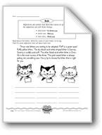 Three Cute Kittens (Adjectives)