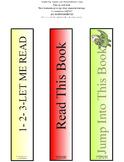 Three Different Bookmarks