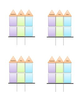 Three Digit Adding with regrouping mini unit