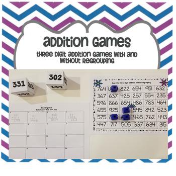 Three Digit Addition Game