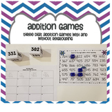 Three Digit Addition Games