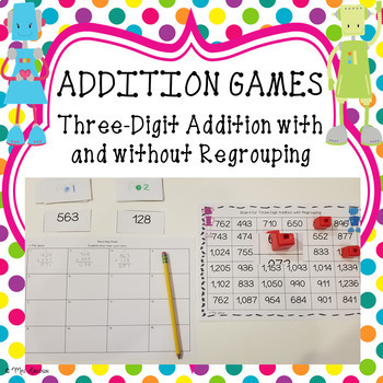 Three-Digit Addition Game