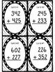 Three-Digit Addition NO Regrouping Task Cards! Grades 2-4