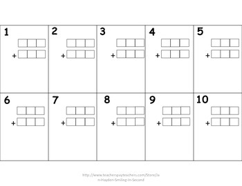 3 Digit Addition Scoot/Task Cards-Two sets(with & without regrouping)