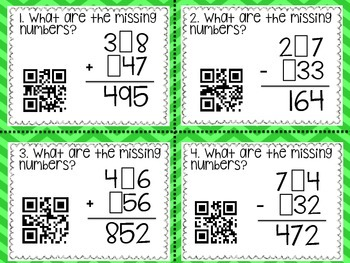 Three Digit Addition & Subtraction with Regrouping