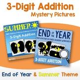 Three Digit Addition - Summer, End of Year