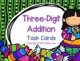 Three-Digit Addition Task Cards