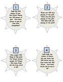 Three Digit Addition Task Cards with Regrouping (Ones place)